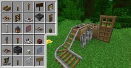 Consistent vanilla 3D items & proper 3D rails Minecraft Texture Pack