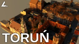 Toruń - Old Town Minecraft Map & Project