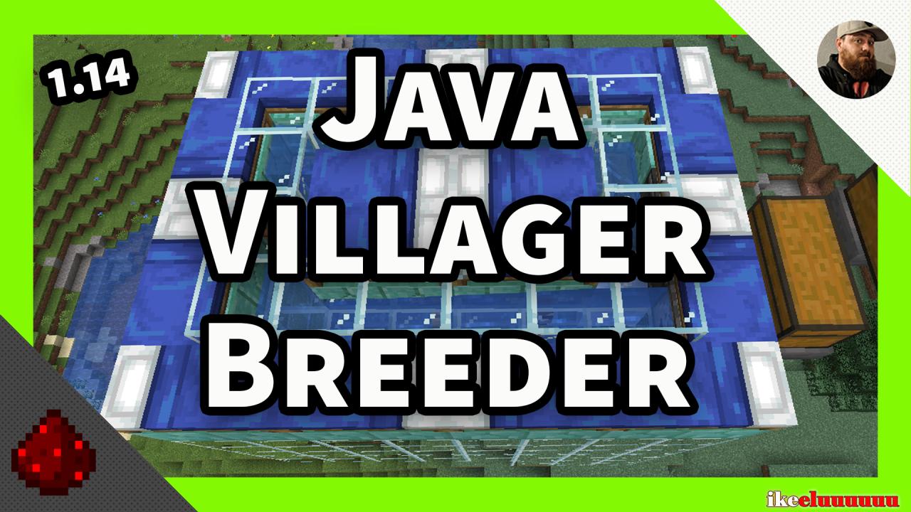 1.14 villager breeder   Minecraft 1.14   Ideas and ...