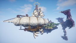 """L'attaque de Grindhell"" [Skywars Map Bundle] + [Cinematic] Minecraft Map & Project"