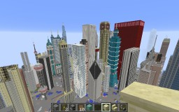 Konkey City (old) Minecraft Map & Project