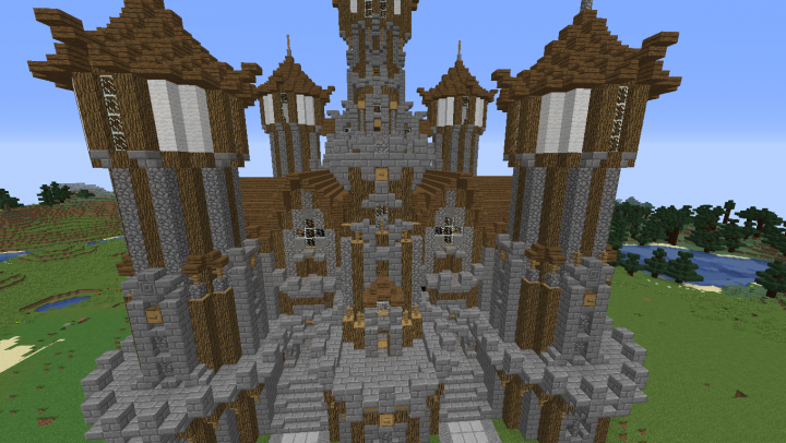 The new city i started with its castle