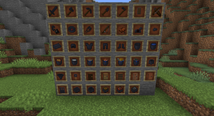 Khuz's Smithing Table Iron Minecraft Texture Pack