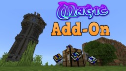 Magic add-on bedrock edition Minecraft Mod