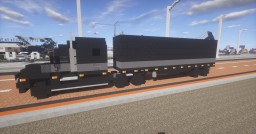 1.5:1 Scale   Mack Anthem Truck with matching dry bulk trailer Minecraft Map & Project