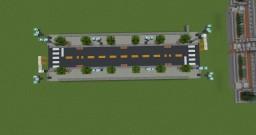 Modern Street Detail (USA) Minecraft Map & Project