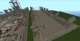 WW2ish Style Floating Drydock Minecraft Map & Project