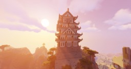 Japanese Castle Minecraft Map & Project