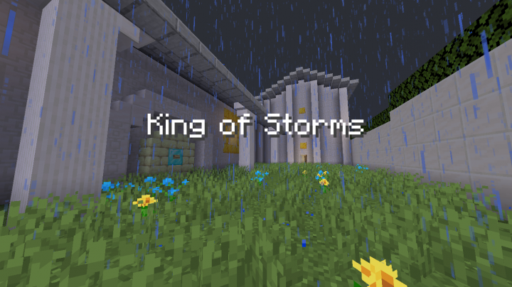 King Of Storms Adventure Map