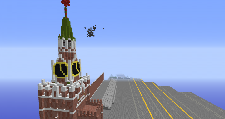 [SOC] Moscow Reproduction Project. Minecraft Map