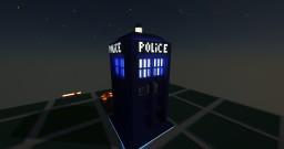 DoctorWho Tardis Minecraft Map & Project