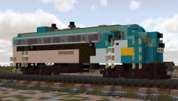 Verde Canyon Railroad EMD fp-7 number 1510 Minecraft Map & Project