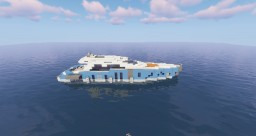 Sport yacht - Le Blue Y Minecraft Map & Project