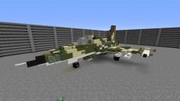 F-5E Tiger II (2:1) Minecraft Map & Project