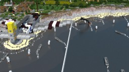 D-Day Landing - Pointe du Hoc Minecraft Map & Project