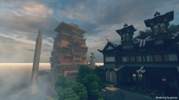 ghibli The Spiriting Away Of Sen And Chihiro Minecraft Map & Project