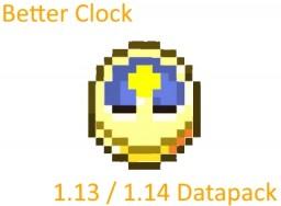 [DataPack] Better Clock 1.13/1.16 Minecraft Data Pack