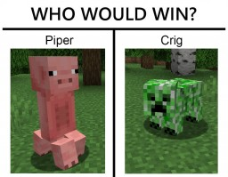 『CURSED』Crig & Piper  *sounds included* Minecraft Texture Pack