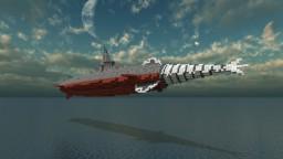 Gōtengō, the Undersea Battleship Minecraft Map & Project