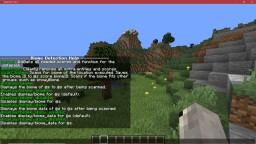 Biome Detection Utility v1.6 for Minecraft 1.14 Minecraft Data Pack