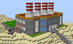 Kanto Power Plant - Pixelmon Corvus Minecraft Map & Project