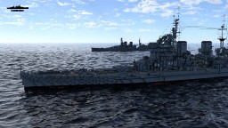 HMS King George V 1:1 Scale Minecraft Map & Project