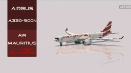 Airbus A330-900neo Air Mauritius [+Download] Minecraft Map & Project