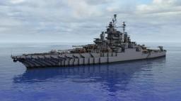 USS Tennessee BB-43 1942 refit Minecraft Map & Project