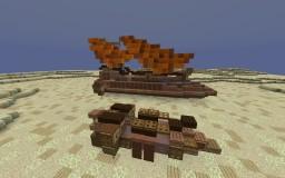 "Sail Barge ""Khetanna"" | Star Wars 1:1 Build Minecraft Map & Project"