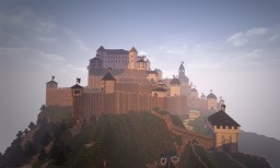 huge Medieval Castle Project Minecraft Map & Project