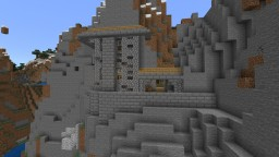 Mountain Skeleton Fortress Minecraft Map & Project