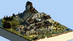 Whiterun (Skyrim TES) full interior Minecraft Map & Project