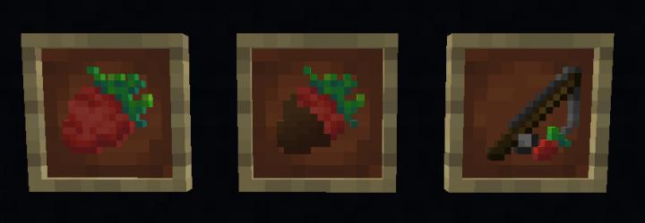 Strawberry, Chocolate Covered Strawberry, Strawberry on a Stick