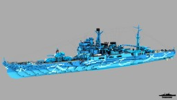 Full Takao class 1:1 Scale Minecraft Map & Project