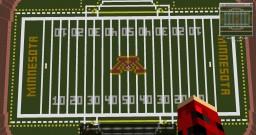 TCF Bank Stadium - University Of Minnesota American Football Stadium Minecraft Map & Project
