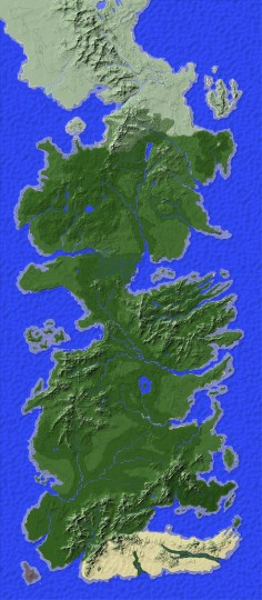 Our server uses the incredibly accurate Westeros map created by Greyson Kousari!
