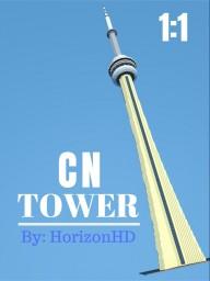 1:1 CN Tower, Toronto Minecraft Map & Project