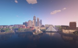 New Francis - City Skyline Minecraft Map & Project