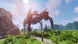 Goliath - A Steampunk Mecha Minecraft Map & Project