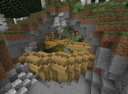 Mining encampment Minecraft Map & Project