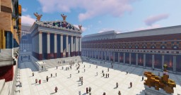 The forum of Augustus - Conquest Reforged Minecraft Map & Project