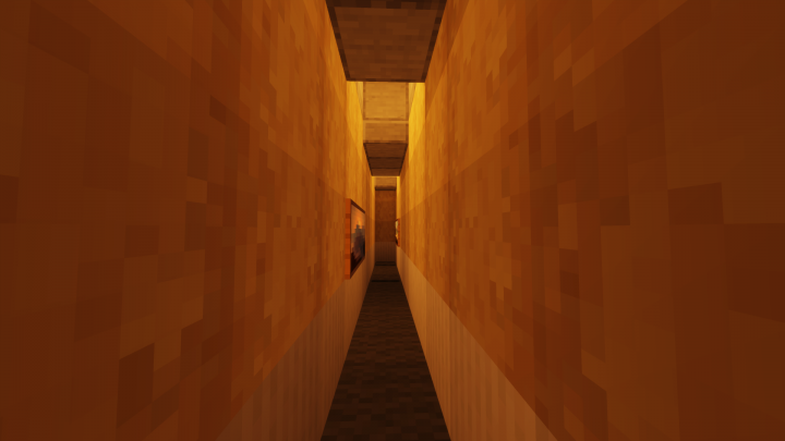 「The Backrooms」 Minecraft Map