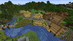 The lovely town of Fernfields Minecraft Map & Project