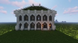 Imperial City Inspired House #1 Minecraft Map & Project