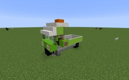 3 Wheeled Vehicle Minecraft Map & Project