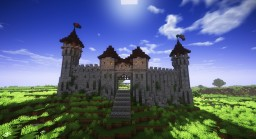 1.14 Medieval Castle Minecraft Map & Project