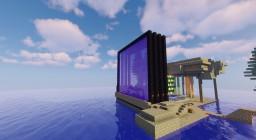 Nether Portal Farm Minecraft Map & Project