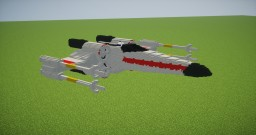 X-Wing 3D Model Minecraft Texture Pack