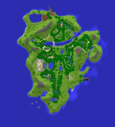The Isla Nublar Project: 65 Million years in the making! Minecraft Map & Project