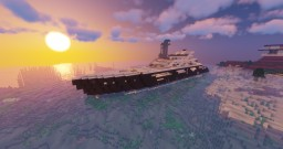 Luxury Yacht - The USS Endeavour Minecraft Map & Project